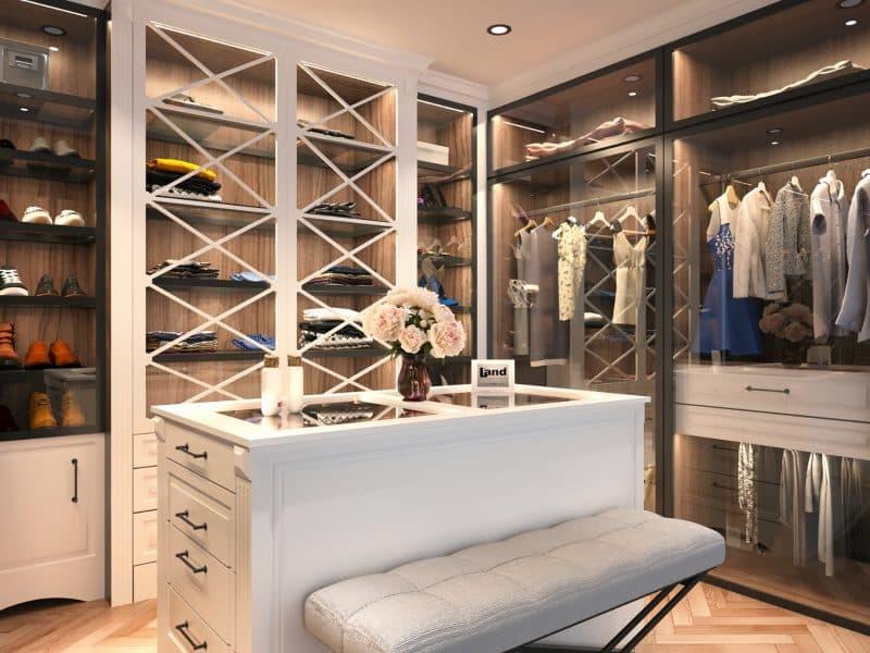 Zevkinize Göre Şekillenebilen Giyinme Odaları