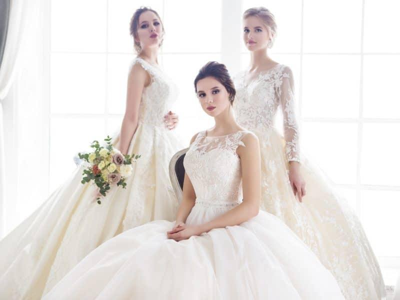 Bahar Temalı Düğünler İçin Gelinlik Modelleri